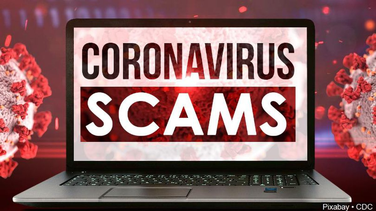 A lot of people out there are taking advantage of the COVID-19 outbreak to scam people, so...