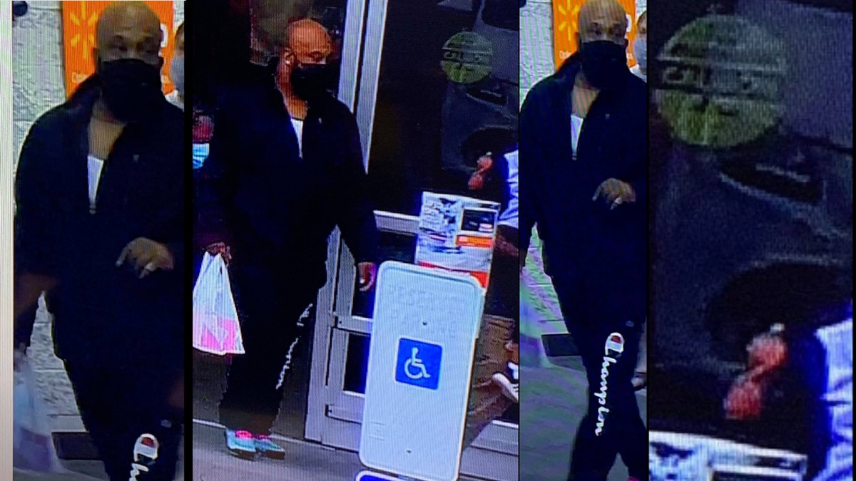 The suspect in these photos appears to be a bald black male, about 5'10 - 6'0, wearing black...