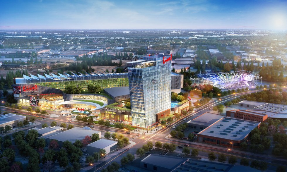 Live! Casino and Hotel proposal by  The Cordish Companies