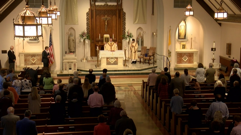 The Catholic Diocese of Richmond lifts restrictions for masks and social distancing following a...