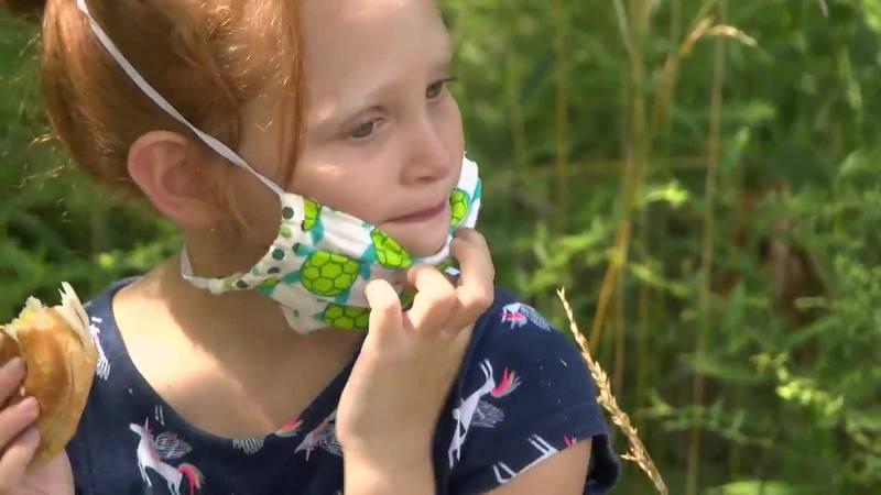 How do you help kids adjust to wearing masks