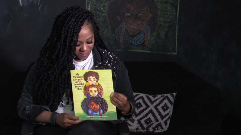 Author and mom Latarsha Woods just published her first children's book in hopes of empowering...
