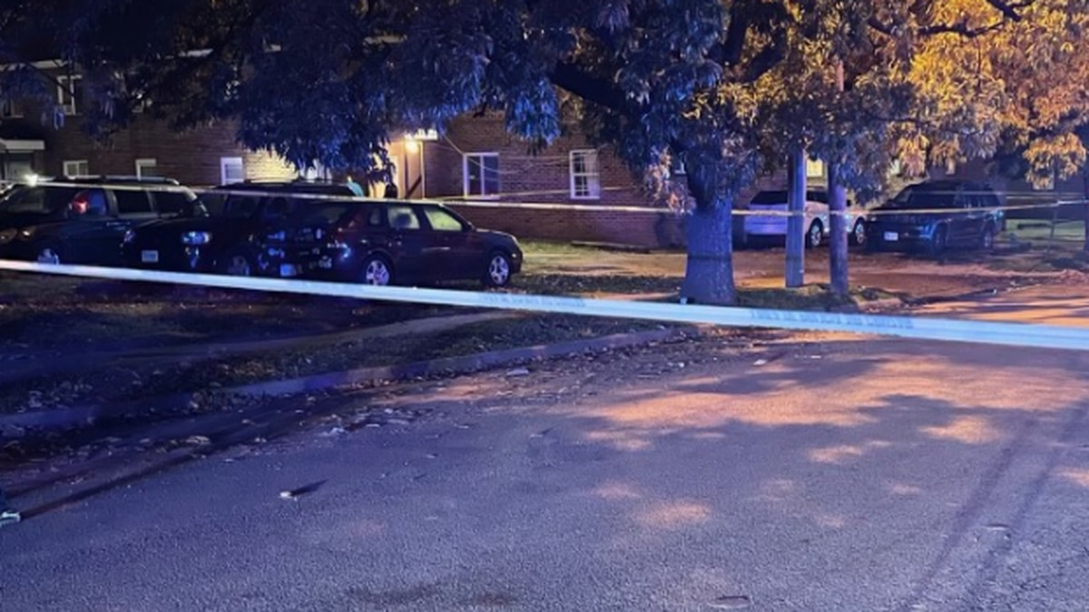 Police respond to a shooting on Whitcomb Street.
