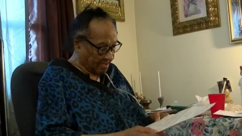 The 88-year-old tenant is fighting for apartment repairs.