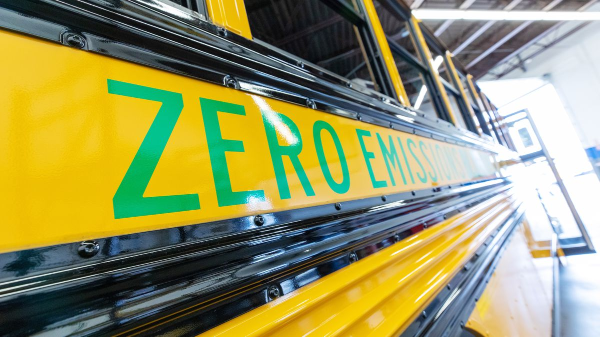 Electric school buses will soon be on the roads of Central Virginia, as well as other locations...