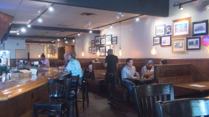 Capital Ale House preps for covid restrictions to lift on friday.