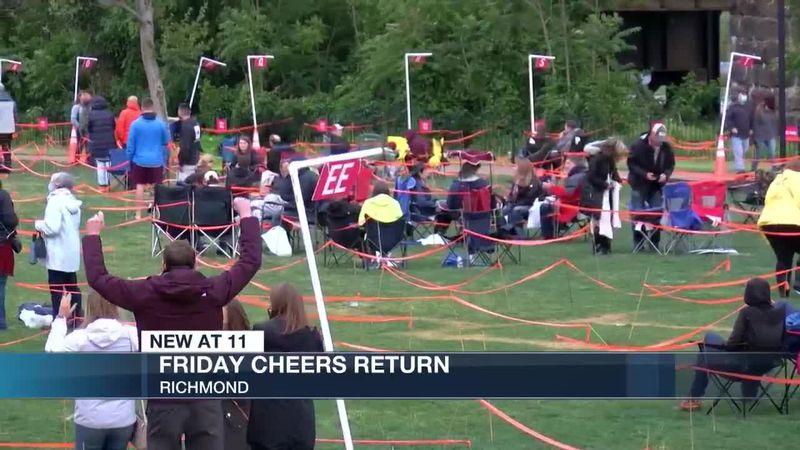 Friday Cheers returns in Richmond