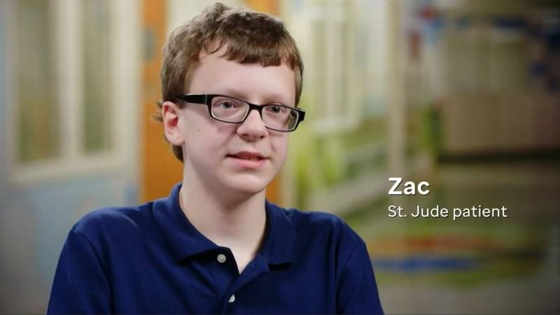 Zac is holding out for a miracle, and he's counting on St. Jude while he receives his...