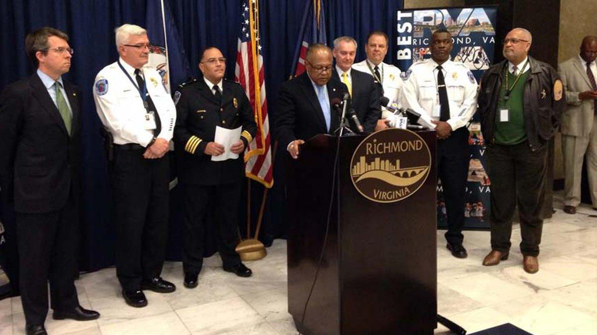 Richmond Mayor Dwight Jones promoted Deputy Chief Al Durham to the position of Richmond Police...