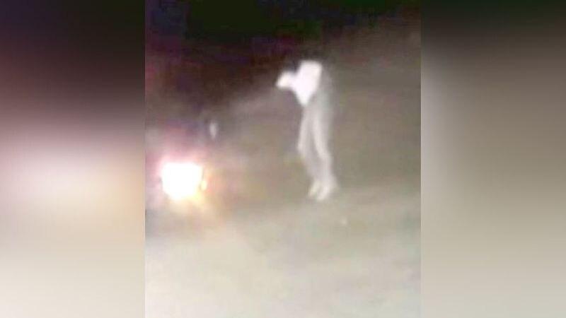 Video captured the suspect.