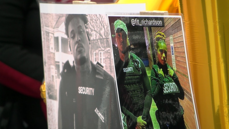 A vigil was held Monday for one of the two victims gunned down outside of a Henrico shopping...