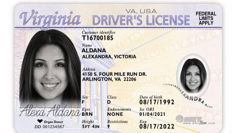 The credential is for those who cannot meet Virginia's legal presence requirements