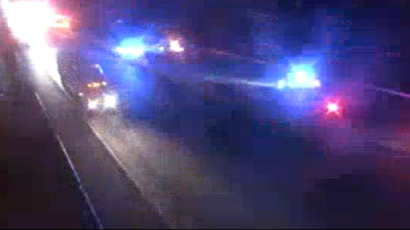 All lanes of Interstate 95 south are closed in Chesterfield due to a crash.