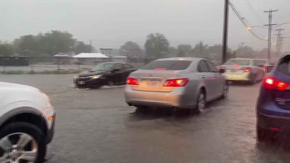 Scattered storms cause flash flooding in Central Virginia