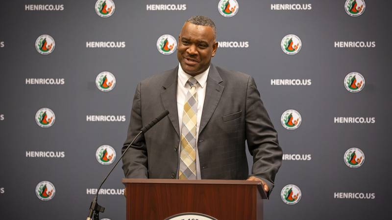 Henrico County announced Eric English as Police Chief of the Henrico County Police Department.