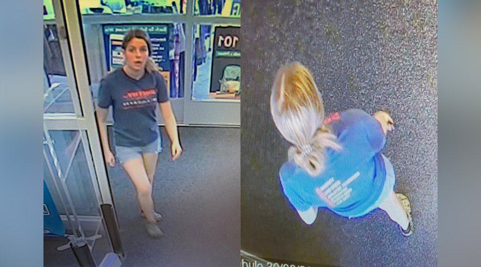 Police released these images that were captured by surveillance cameras.