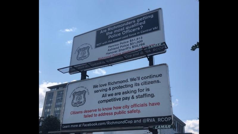 Richmond Coalition of Police Billboards