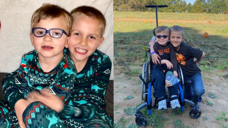 Chesterfield Fire says 8-year-old Cody Slayton and 4-year-old Liam Slayton died in a house fire...