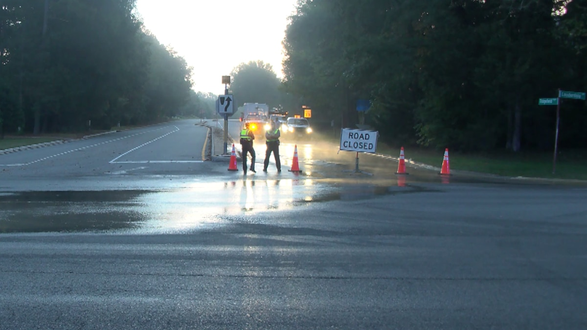 A Henrico County road is back open after a water main break closed it for a portion of Thursday.