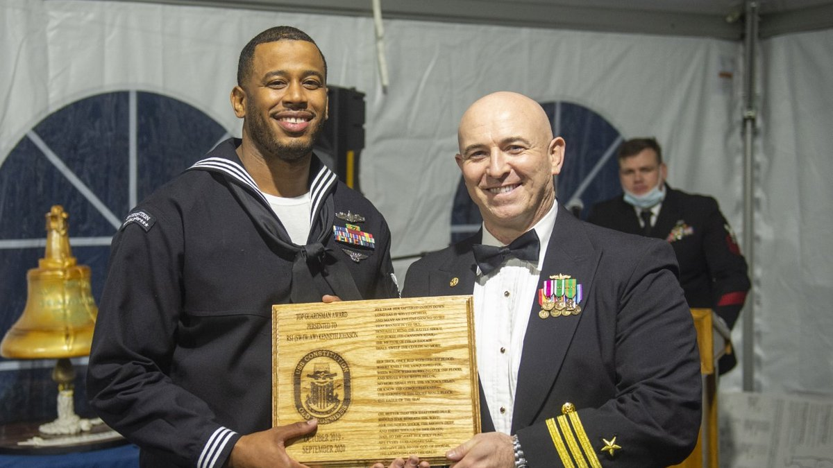 Chester native and Navy Retail Services Specialist 1st Class Kenneth Johnson has been awarded...