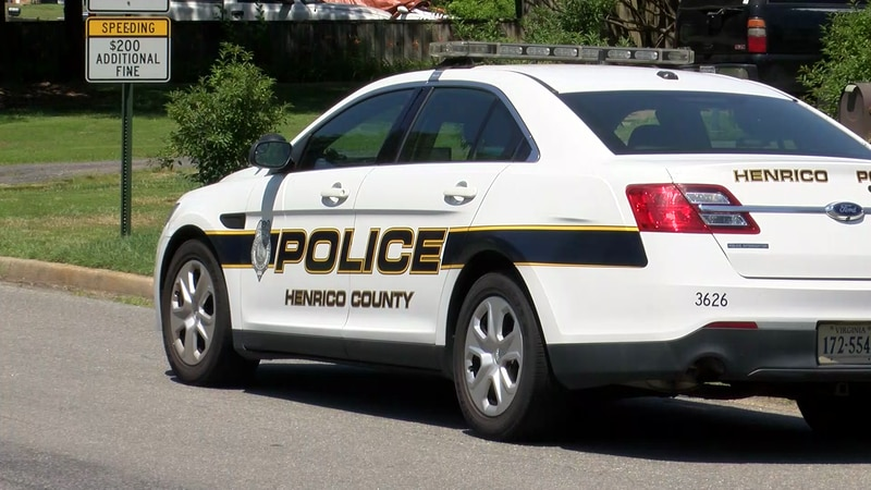 A prank call led to a large police presence in a Henrico neighborhood on Friday afternoon.