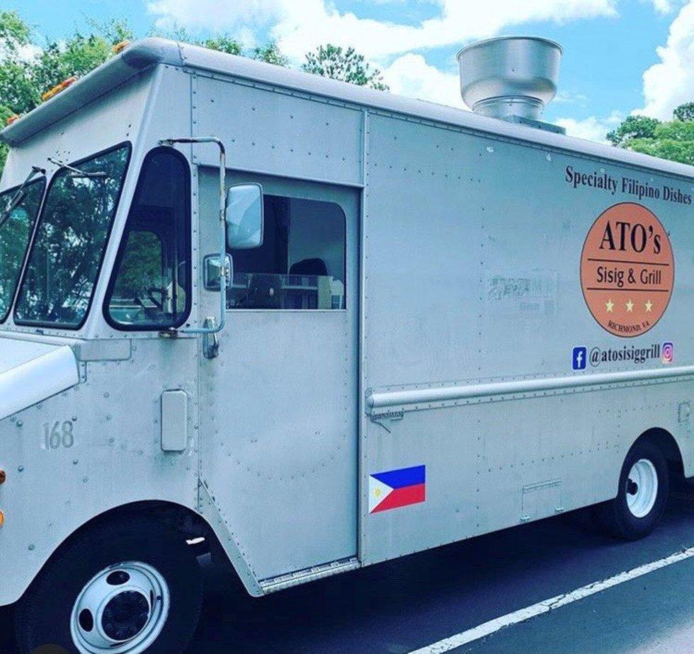 Food truck owned by Ganthel Vergara