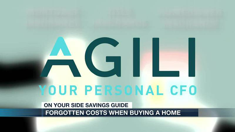 Forgotten costs when buying a home