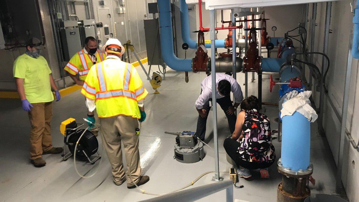 UVA testing wastewater on grounds to detect coronavirus