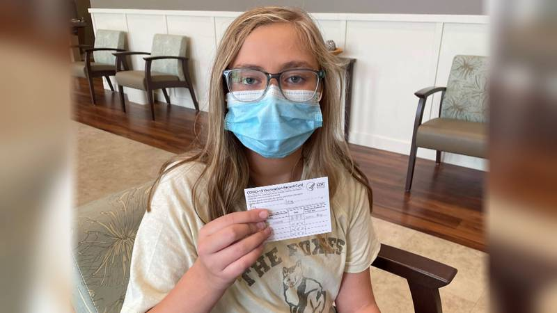 When Lucy heard the COVID-19 vaccine was available earlier this year, she knew she wanted to...
