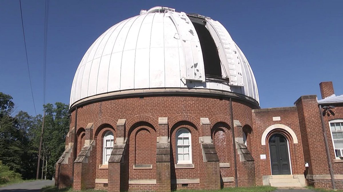 McCormick Observatory in Charlottesville