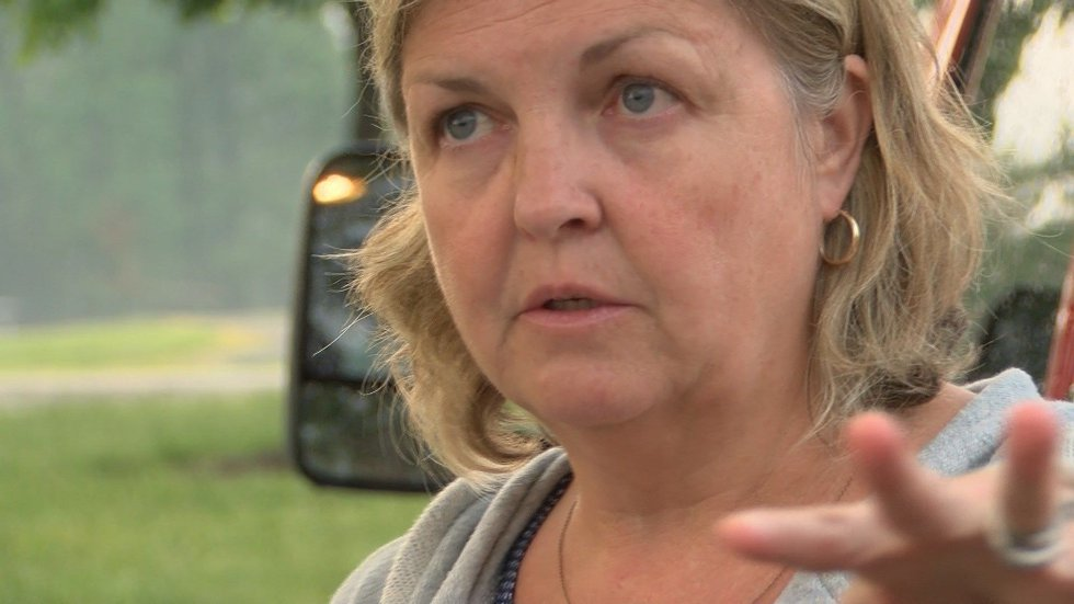 Tracey Leverty, first to dial 911 when lightning struck Henrico grandparents