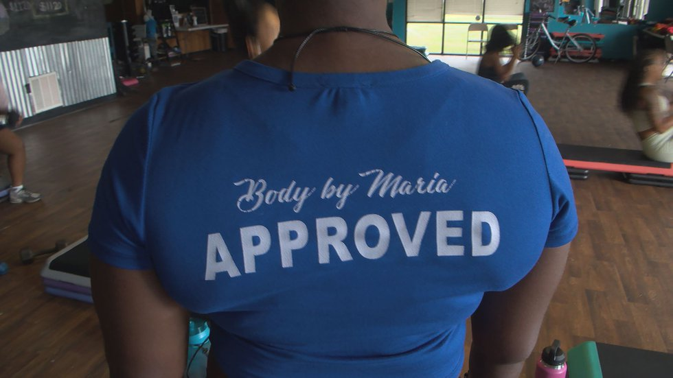 The body you want is on the other side of hard work-this is Maria Jones' philosophy of life.