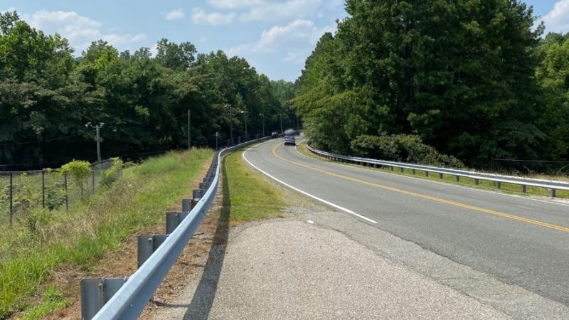 The two-vehicle crash happened around 1:19 p.m. in the 4000 block of Carolina Avenue.