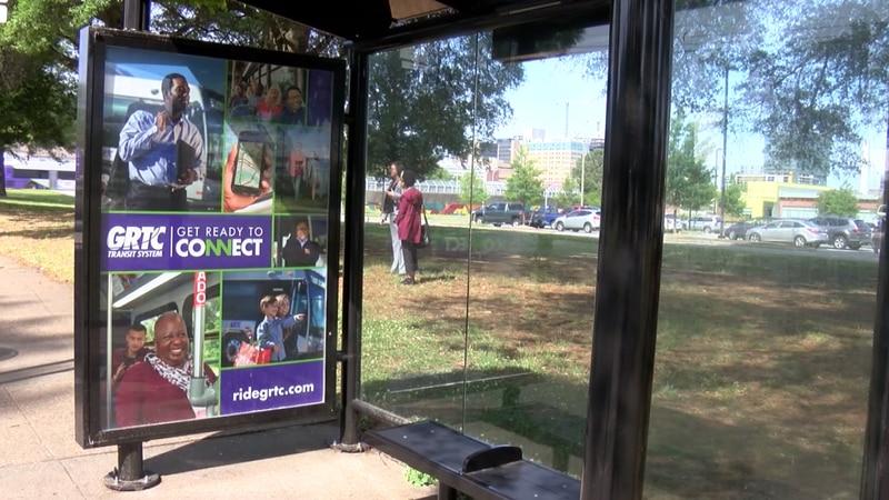 GRTC & Bon Secours unveil new bus stop