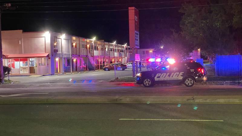 Death investigation underway after shooting at Petersburg hotel.