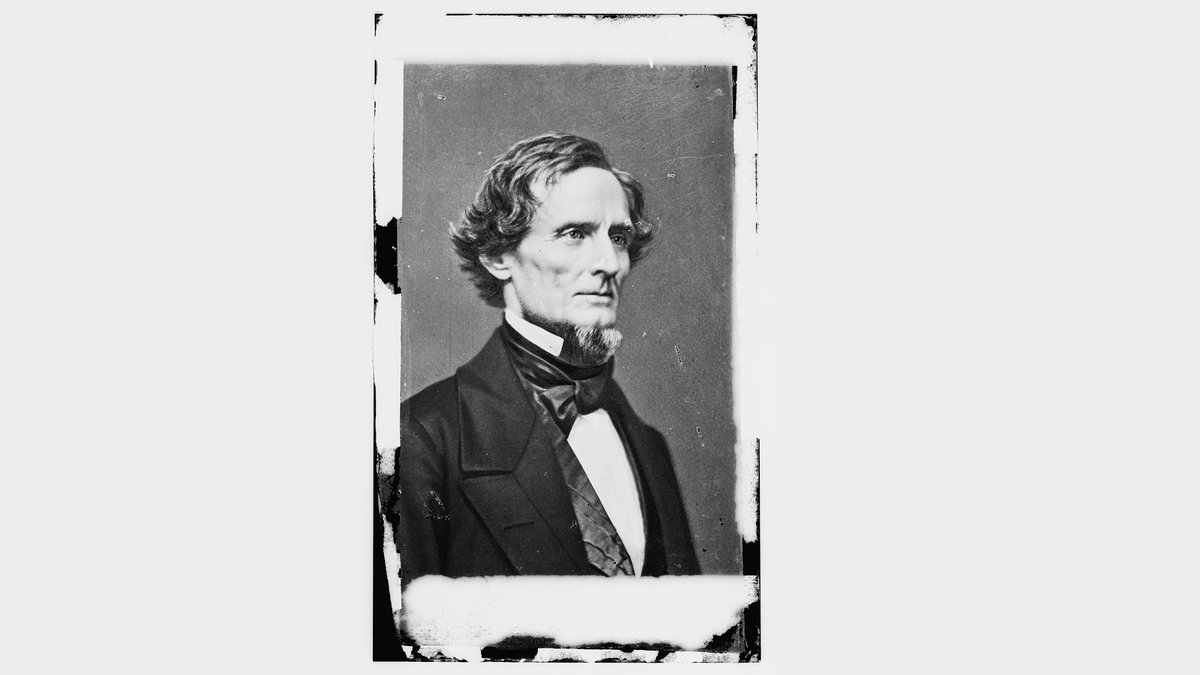 Moderate Jefferson Davis was chosen by a convention in February of 1861 so the election in...