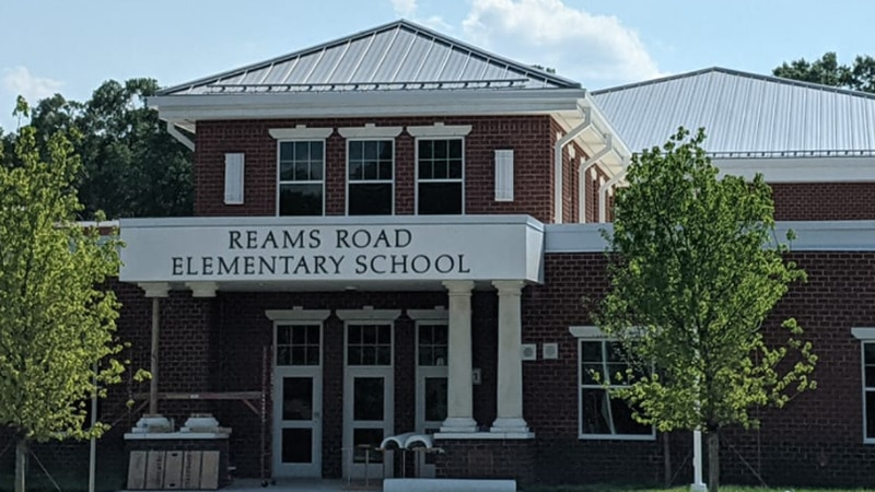 A ribbon-cutting ceremony will be held for the new Reams Road Elementary School.