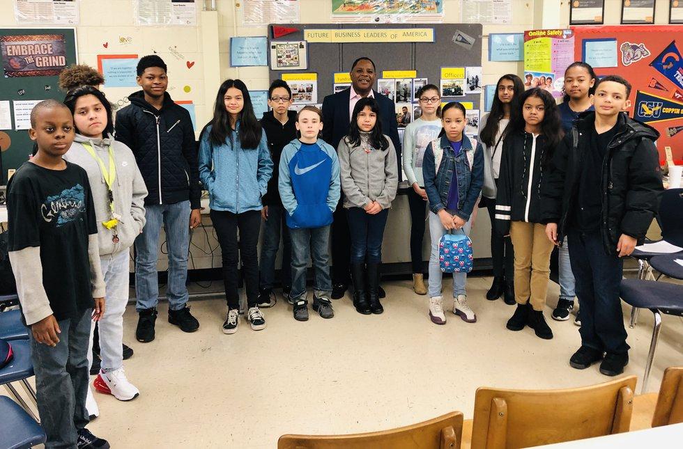Read Across America week at Falling Creek Middle School