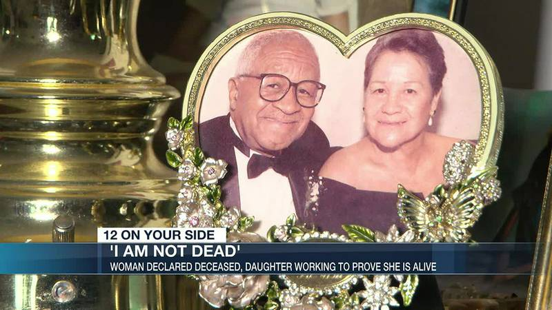 'I am not dead:' Daughter works to prove mother is alive