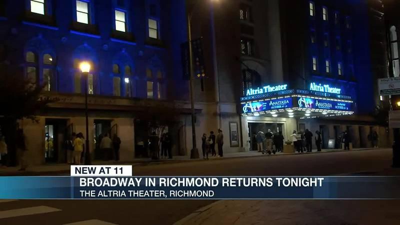 Broadway in Richmond returns