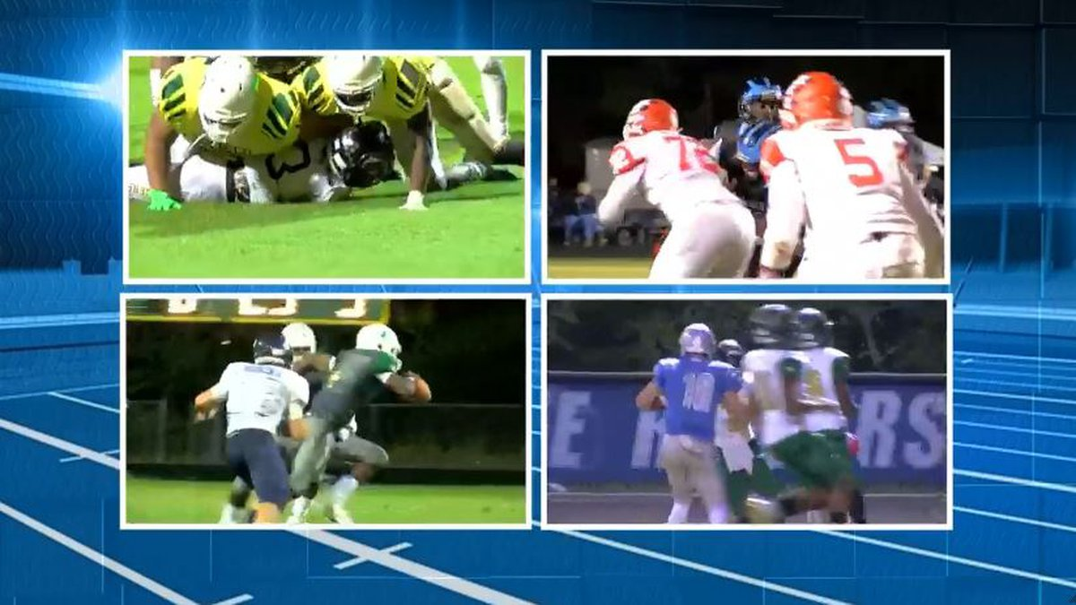 Highlights from recent high school football action in Central Virginia. (Source: NBC12)