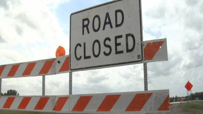 The closure is due to utility work relating to the relocation of gas lines.