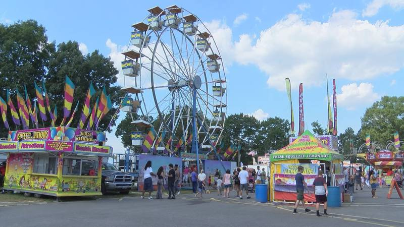 Friday kicked off the first day of the Chesterfield County fair and fairgoers were there to...