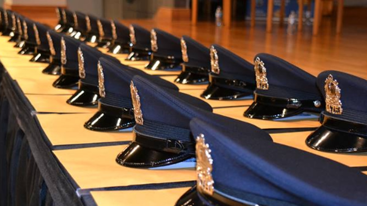 The graduation and swearing-in of the new officers at the Richmond Police Training Academy were...