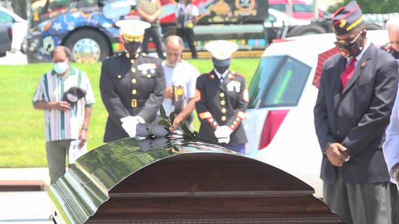 Over 70 years after he was killed in Korea, Henry Ellis was buried with full military honors in...