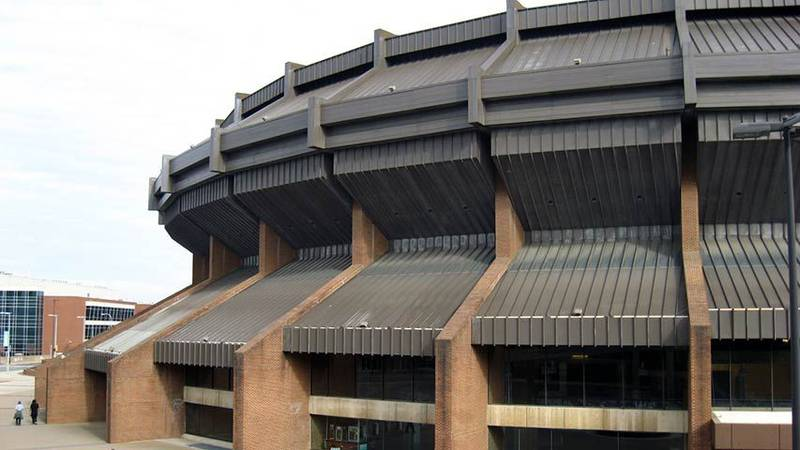 The Richmond Coliseum was built in 1971. (Source: NBC12)