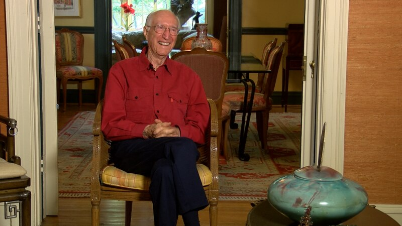 Bill Selvey authored his first book, Parallel Reality, at the age of 91. (Source: NBC12)