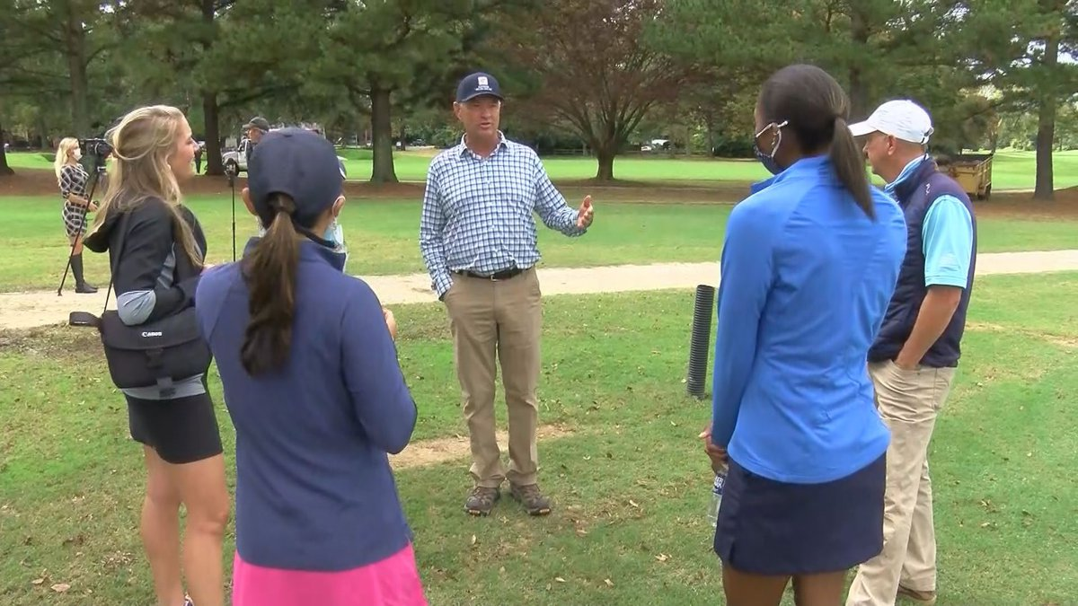 Davis Love III is the architect behind the renovations at Belmont Golf Course.