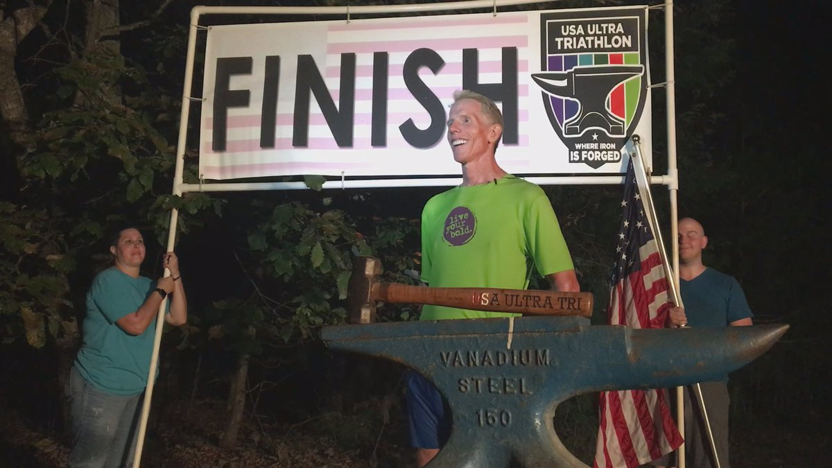 Turner Reflecting on Completing 45th Ironman Race