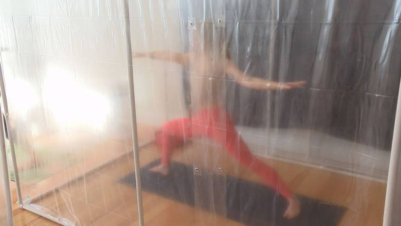 3S Yoga opened its doors on Jan. 19, 2020, only a few months before the pandemic. 3S stands for...